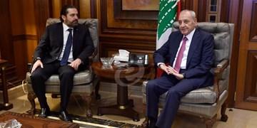 لبنان| «الحریری» از موافقت رئیس پارلمان با بندهای اصلاحی ابتکار فرانسه خبر داد