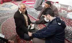 فعالیت کاروان جهادی اربعین در زنجان