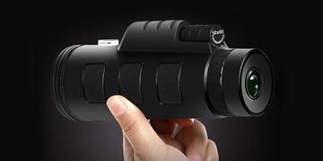 تولید لنز تلسکوپی تک چشمی به قیمت تنها 38 دلار