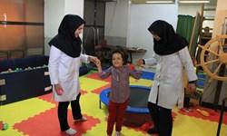 افتتاح بخش کار و گفتار درمانی بیماران فلج مغزی در گلپایگان