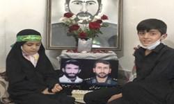 فیلم| دقایقی با فرزندان شهید مدافع حرم مهدی نظری