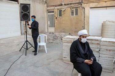 هر کوچه ، یک حسینیه در محله زیباشهر،  خیابان شهید بهمنی