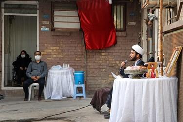 سخنرانی حجت الاسلام بزاز در مراسم عزاداری حضرت سیدالشهدا (ع)