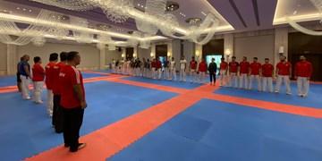 تیم های کاراته ترکیه و اوکراین اردوی مشترک برگزار کردند