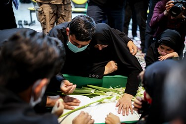 وداع با شهید مدافع حرم زکریا شیری