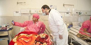 بازدید «محمد رشیدی» از بیمارستان کروناییها
