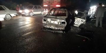 حادثه در پل سوم بشار یاسوج/مرگ نوجوان ۱۸ ساله در واژگونی پراید