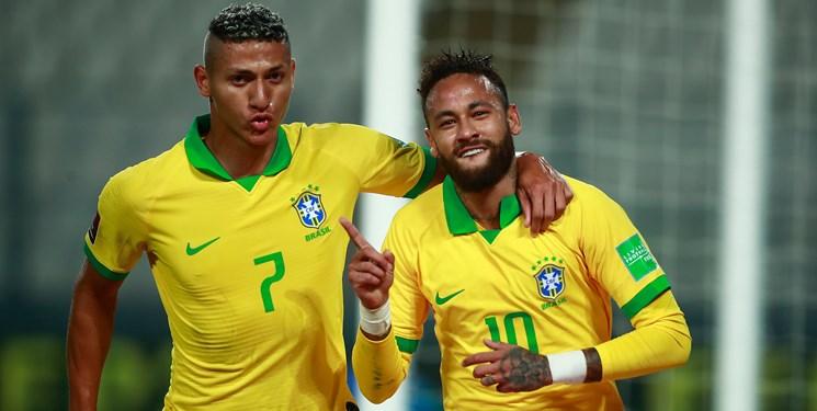 23 بازیکن برزیل برای رویارویی با ونزوئلا و اروگوئه اعلام شد