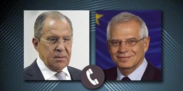 لاوروف خواستار توقف دامن زدن به احساسات ضد روسی در اتحادیه اروپا شد