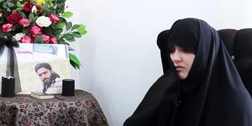 همسر شهید حاجیزاده: آقا رضا به آرزویش برای شهادت رسید/ شهدا با برگشت از سفرشان دل ما را آرام کردند