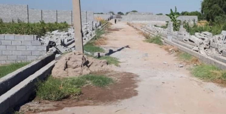 تخریب ۸۸ قطعه باغ غیرمجاز در دزفول