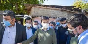 بازدید عضو هیات رئیس مجلس از روستاهای زلزلهزده رامیان