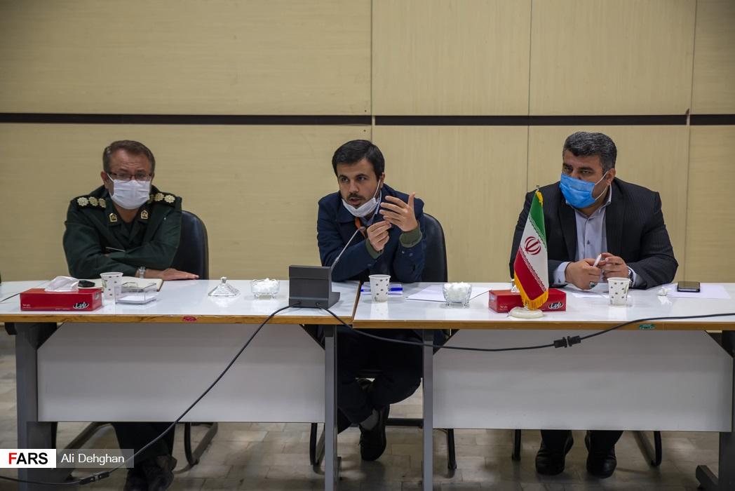 جلسه جهادی مسئولین شهرستانی با حضور دکتر دهنوی در فرمانداری رامیان