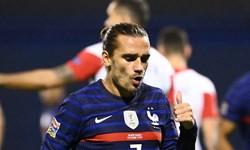 گریژمان: بازی سخت و پیچیدهای مقابل کرواسی داشتیم/یک گل عالی به ثمر رساندم