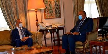 رایزنی هماهنگکننده ویژه سازمان ملل با وزیر خارجه مصر و محور این دیدار