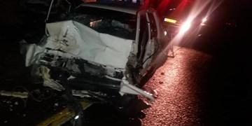 تصادف در طالقان یک فوتی و 4 مصدوم در پی داشت