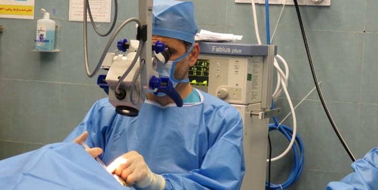 انجام اولین عمل پیوند سلولهای بنیادی چشم در بوشهر