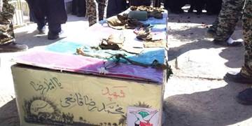 پیکر پاک شهید محمدرضا قانعی در سیف آباد بردسکن به خاک سپرده شد