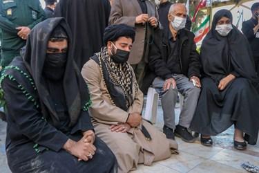دوستان شهید مدافع حرم مجید سلمانیان