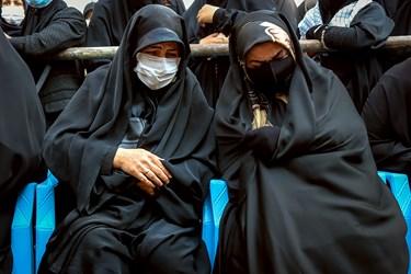 مادر شهید مدافع حرم مجید سلمانیان