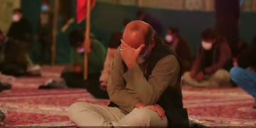 فیلم/ برگزاری مراسم عزاداری توسط هیات مازندرانیها