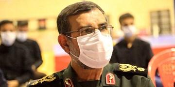 فیلم  افتتاح چند پروژه در بشاگرد با حضور سردار تنگسیری