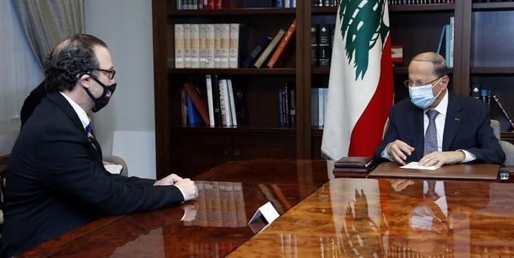 در دیدار امروز معاون وزیر خارجه آمریکا با رئیسجمهور لبنان چه گذشت؟