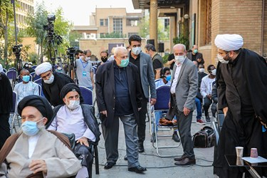 ورود صلاح الدین زواوی سفیر فلسطین به محل پنجمین اجلاسیه بین المللی مجاهدین در غربت