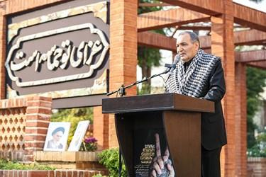 سخنرانی سردار محمد طهرانی مقدم دبیرکل در پنجمین اجلاسیه بینالمللی مجاهدان در غربت