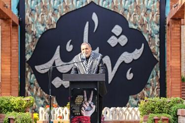 سخنرانی سردار محمد طهرانی مقدم دبیرکل پنجمین اجلاسیه بینالمللی مجاهدان در غربت