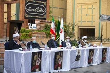 اعضای هیئت رییسه پنجمین اجلاسیه بین المللی مجاهدین در غربت