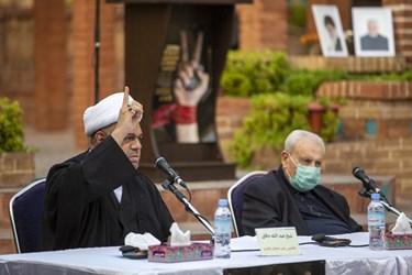 سخنرانی حجت الاسلام عبدالله دقاق جانشین رهبر شیعیان بحرین در پنجمین اجلاسیه بین المللی مجاهدین در غربت