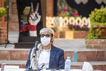 سخنرانی ابراهیم محمد الدیلمی سفیر یمن در پنجمین اجلاسیه بین المللی مجاهدین در غربت