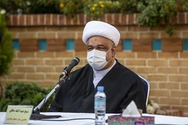 حجت الاسلام عبدالله دقاق جانشین رهبر شیعیان بحرین در پنجمین اجلاسیه بین المللی مجاهدین در غربت
