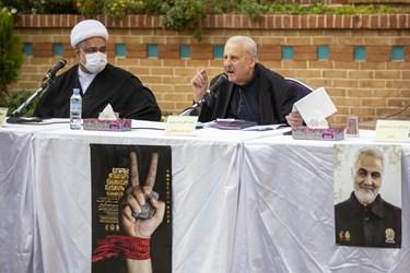 سخنرانی صلاح الدین زواوی سفیر فلسطین در پنجمین اجلاسیه بین المللی مجاهدین در غربت
