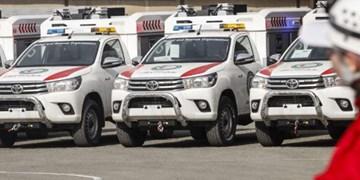 پوشش امدادی ۷۳ حادثه در خراسان رضوی