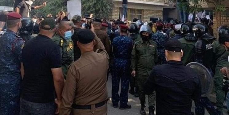 فرمانده الحشد الشعبی: ارتباطی با اعتراضات در مقابل مقر حزب دموکرات نداریم