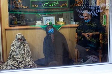 مراسم عزاداری خانوادگی در روز شهادت پیامبر(ص)و امام حسن (ع) / محله ی راه آهن تهران