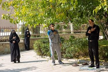 مراسم عزاداری در روز شهادت پیامبر(ص)و امام حسن (ع) / شهرک شهید محلاتی