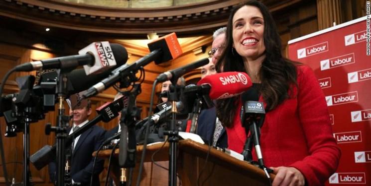 پیروزی قاطع «جاسیندا آردرن» در انتخابات نیوزیلند