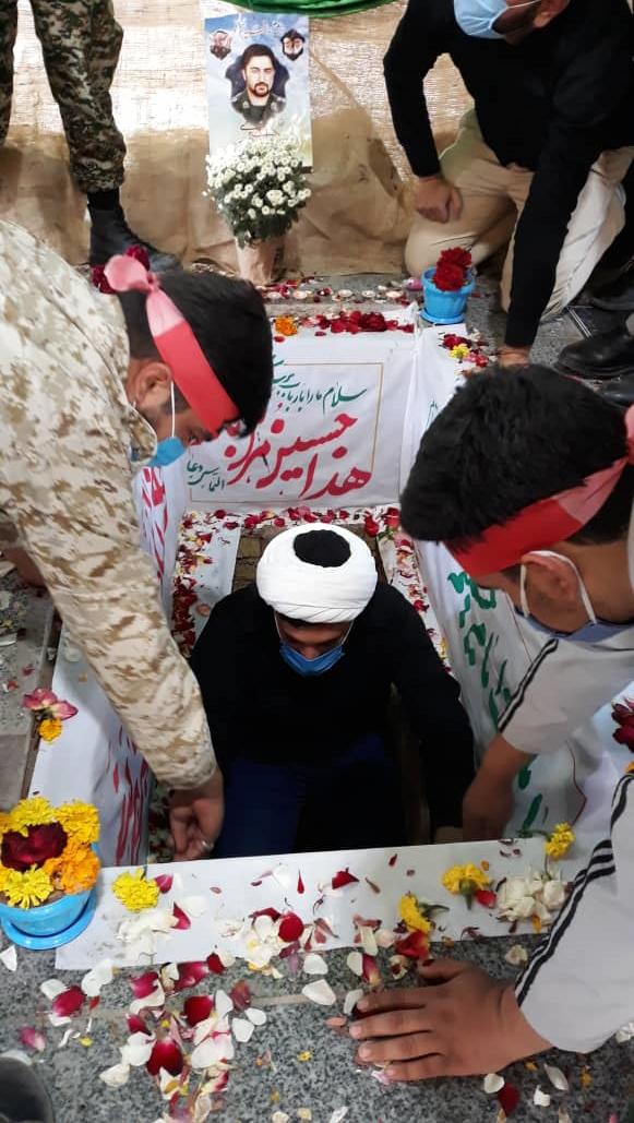 اقبالیه زکریای شهید را در آغوش کشید