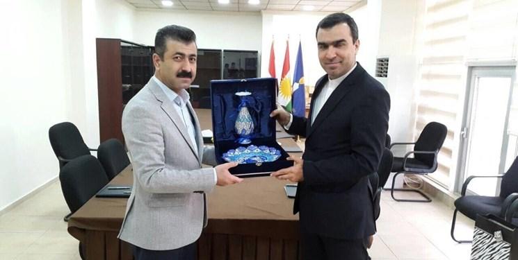 تاکید بر رفع مشکل پرداخت مطالبات شرکتهای ایرانی در اقلیم کردستان عراق