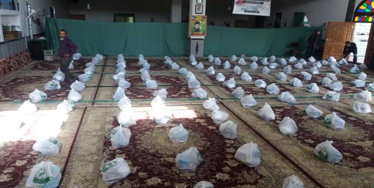 توزیع ۲۰۰ بسته احسان ماندگار بهمناسبت دهه وقف در بندپی