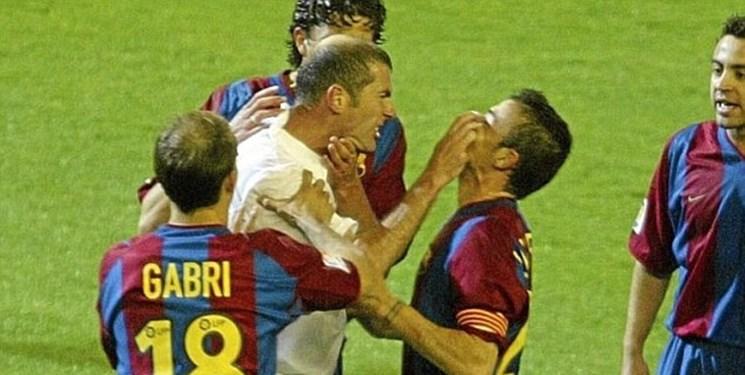 تکرار اتفاقات 17 سال پیش توسط بارسا-رئال/ مرور الکلاسیکوی 2003 با دعوای جنجالی زیدان و انریکه