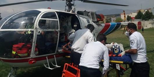 روز پرکار اورژانس هوایی کهگیلویه و بویراحمد؛ از امدادرسانی در دیشموک تا انتقال بیمار به شیراز