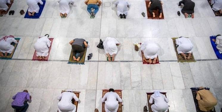 فیلم| درهای مسجدالحرام و مسجدالنبی به روی نمازگزاران گشوده شد