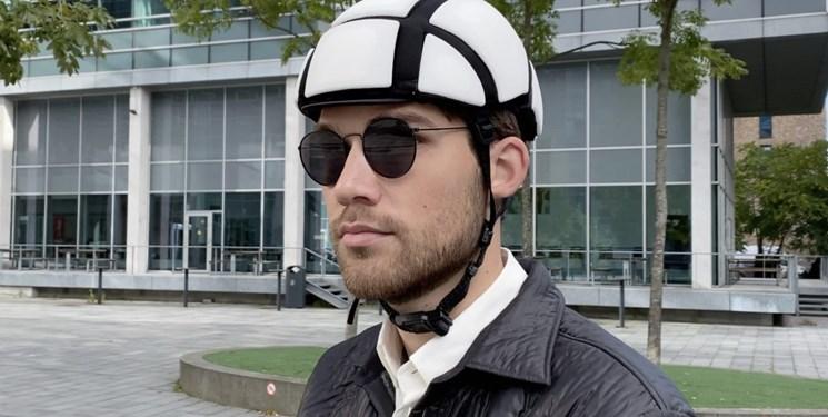 کلاه ایمنی جان سخت و سبک برای نجات موتورسواران