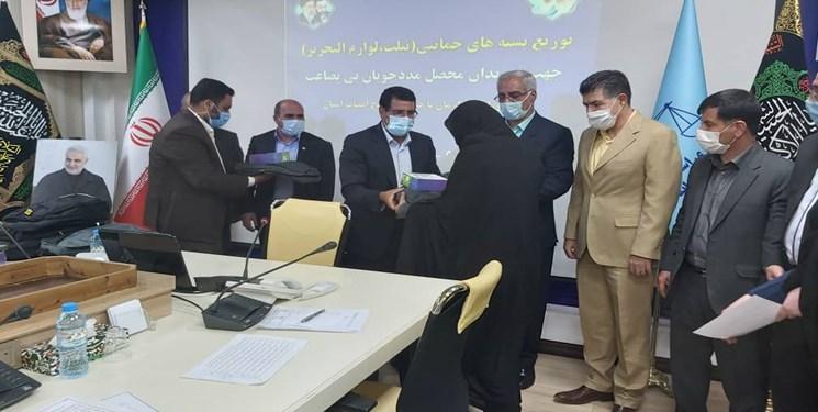 اهدای تبلت به فرزندان محصل مددجویان زندانی در کرمان
