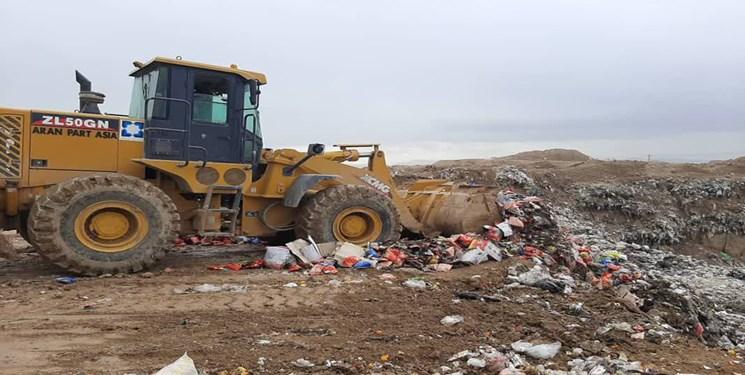 دو تن مواد غذایی فاسد در شهرستان دیّر معدوم شد