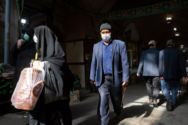 اجباری شدن استفاده از ماسک در اماکن سرپوشیده / بازار تبریز بزرگترین بازار سرپوشیده جهان